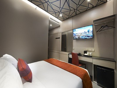 Hotel Terbaru Di Singapore Design Interiornya Modern Minimalis Semuanya Baru Masih Bersih Banget Bintang 4 Daerah Bugis Lavender