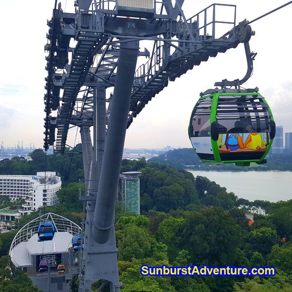 Cable Car Singapore Sentosa Island