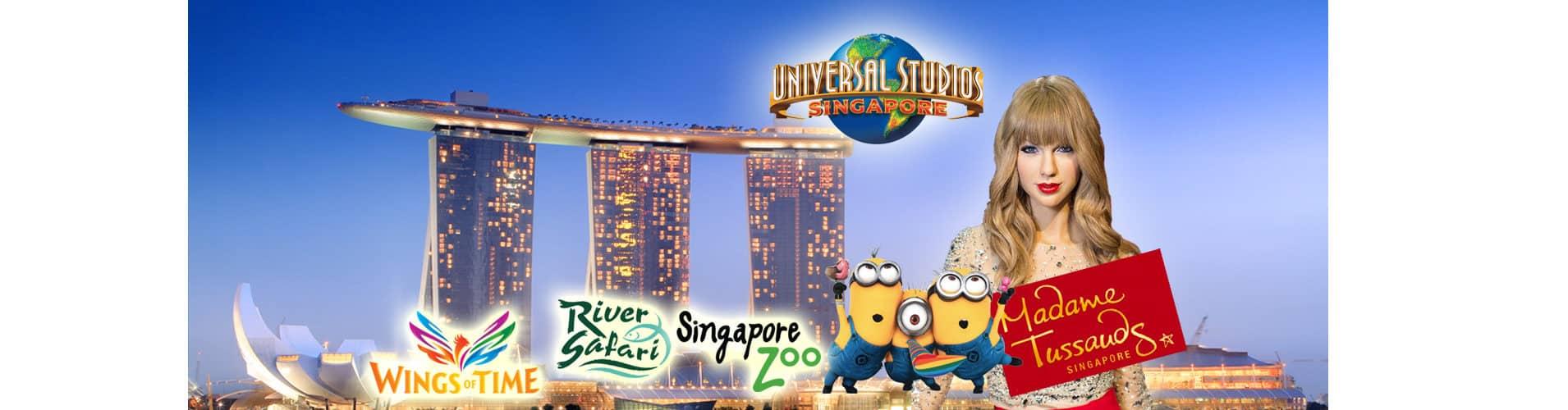 Tiket Wisata Singapore Diskon