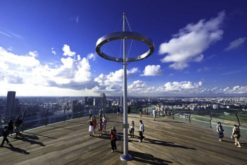 Marina Bay Sands Sky park Singapore