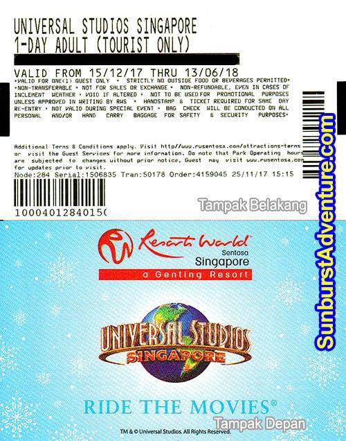 Cara Beli Tiket Universal Studio Singapore Yang Aman Dan Nyaman