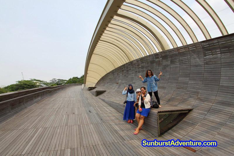 Jembatan Henderson Wave bridge Singapore