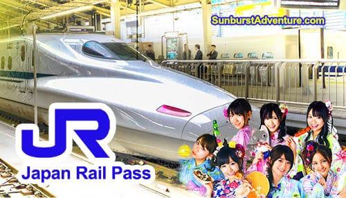 Japan Rail Pass Jr Pass Shinkansen Jepang Sunburstadventure Com