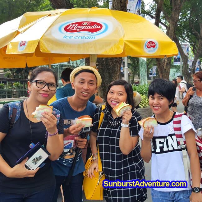 Makan Uncle Ice Cream Orchard Road Singapore Enak Gan