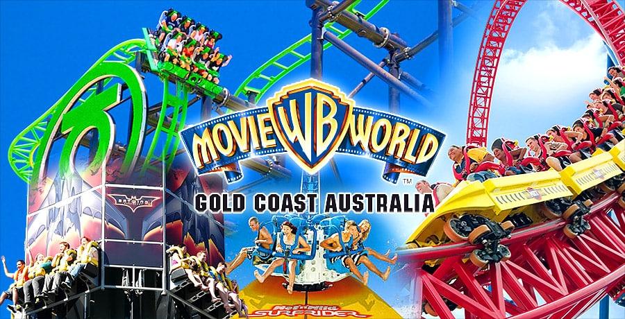 warner bros movie world gold coast australia 2019