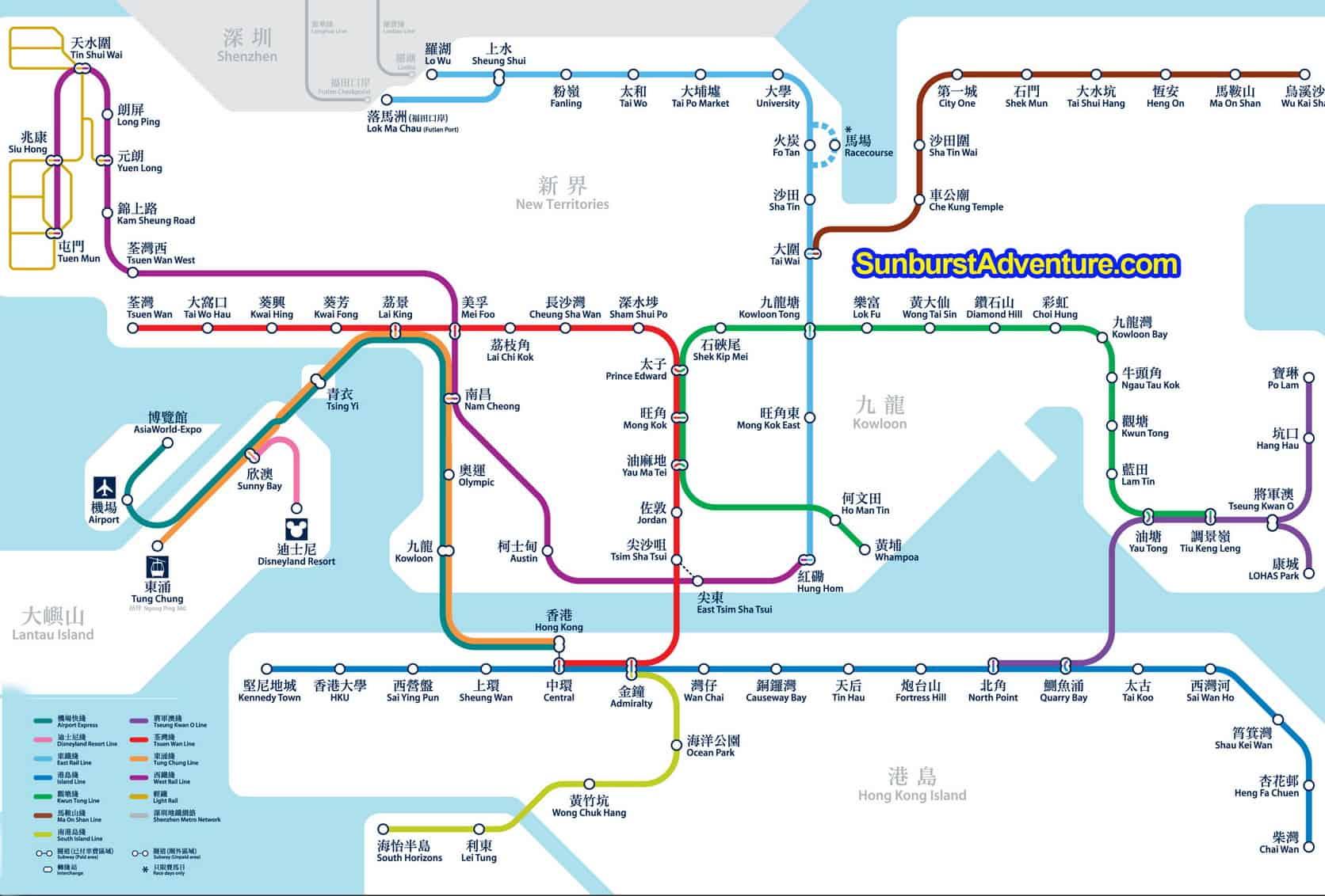 Hong Kong Subway Map Download.Peta Mtr Hong Kong Map Lebih Lengkap Sunburstadventure Com